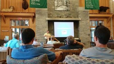 Steve Perry Summarizes EBTJV Accomplishments