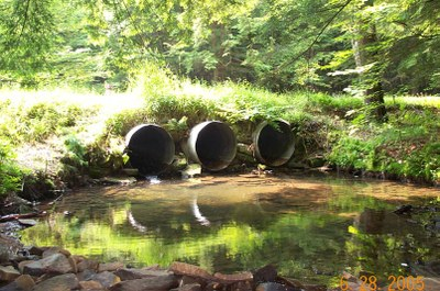 Culverts on Bobbs Creek in Pennsylvania