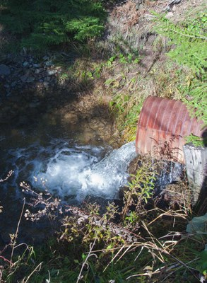 Photo of the Lamothe Creek Culverts in WV