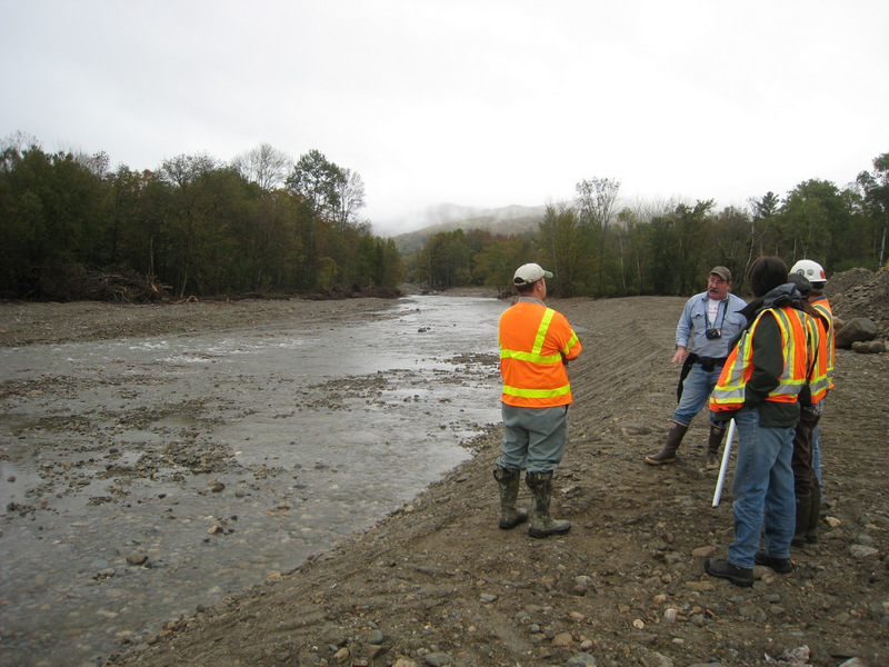 Photo of West Branch Post Gravel Extraction, White River, Vermont