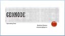 GeoNode - Uploading Data