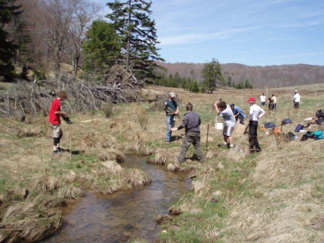Volunteers for Big Run, West Virginia