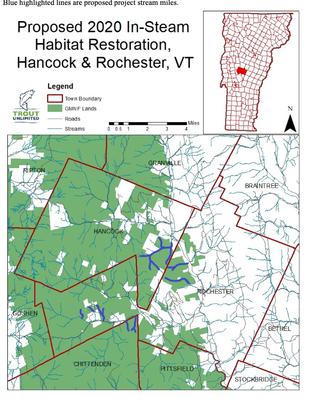 Robinson IRP LWD Habitat Restoration, White River, VT